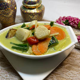 Scallop Green Curry