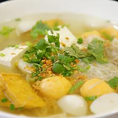 Tofu Fish Ball Noodle Soup