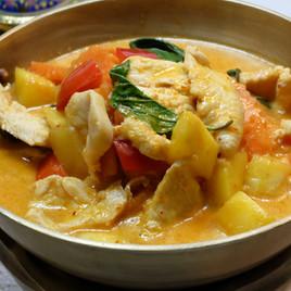 Mango Curry Chicken