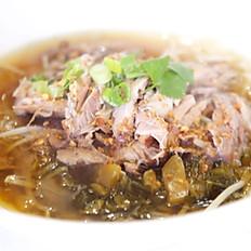 Pork Leg Stew Noodle Soup