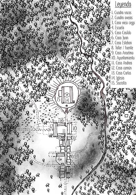 Mapa de San Cipriano del Valle