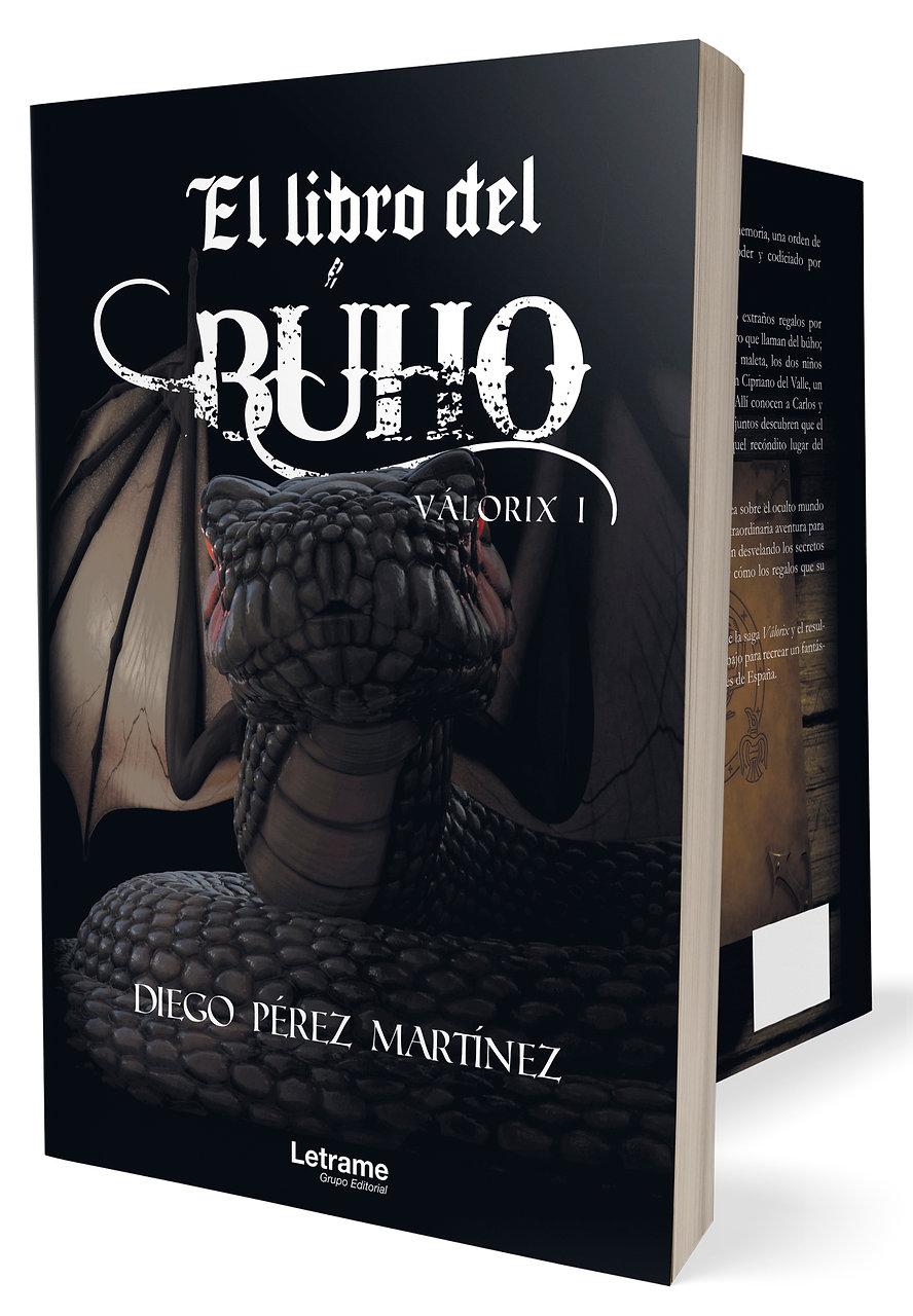 El libro del búho. Novela de fantasía, aventuras y magia con trasfondo en la mitología española
