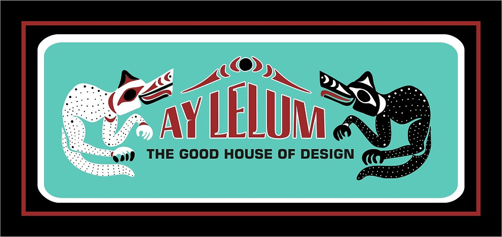Ay-Lelum Logo | Custom Coast Salish Clothing | Nanaimo, BC