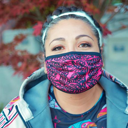 Coast Salish Designed Masks
