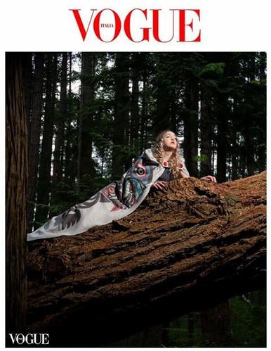 Vogue Cover Shoot