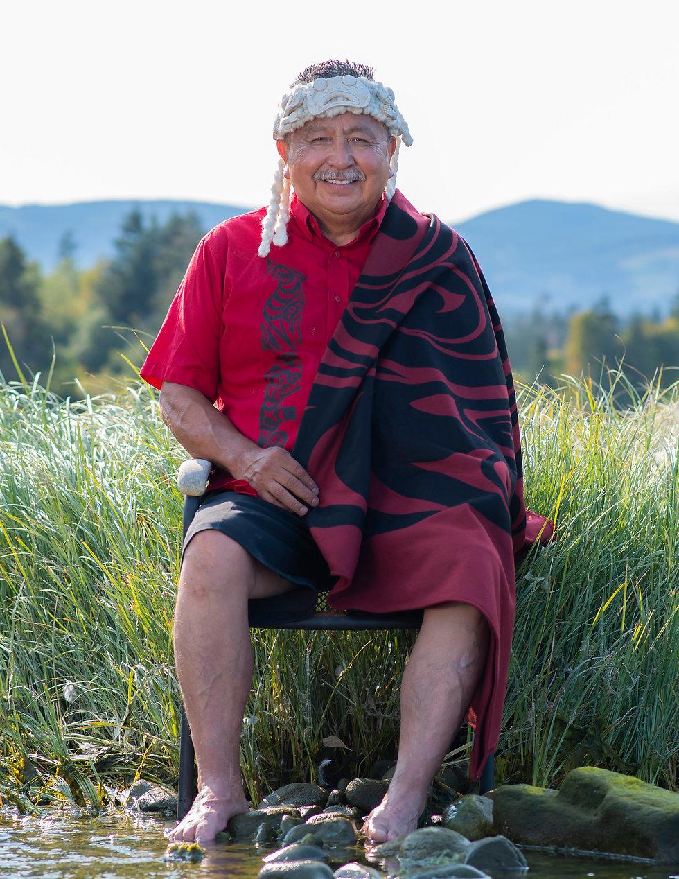 William Good | Ay-Lelum | Custom Coast Salish Clothing | Nanaimo, BC
