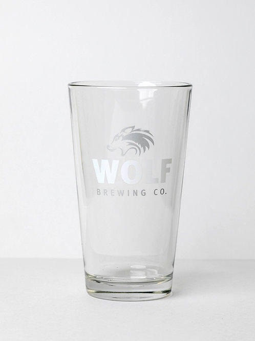 20oz Souvenir Wolf Glass