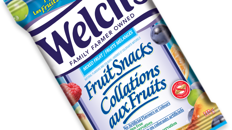 Welch's Collations aux fruits