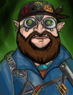 Shadowrun - GrimBolt the Ork
