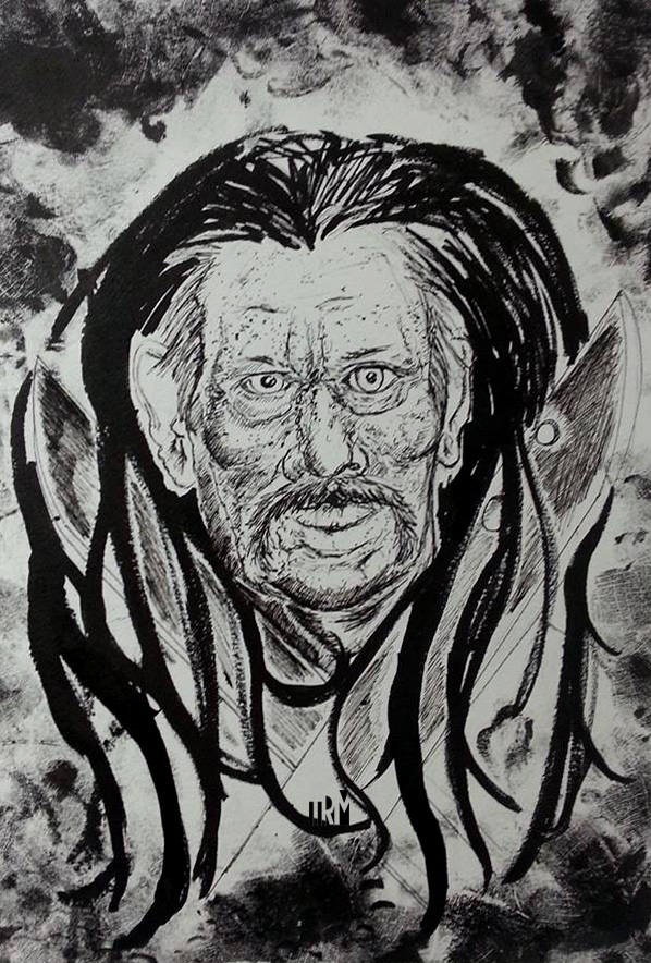 Danny Trejo Illustration