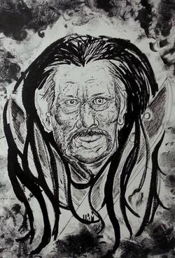 Danny Trejo Illustration