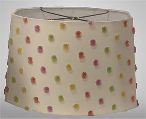 Lampshade in Customer Selected Material