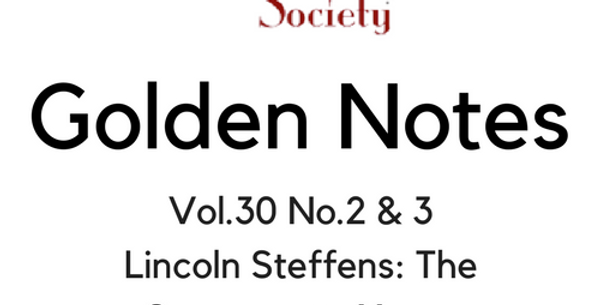 Vol.30 No.2 & 3 Lincoln Steffens: The Sacramento Years (Digital Copy)