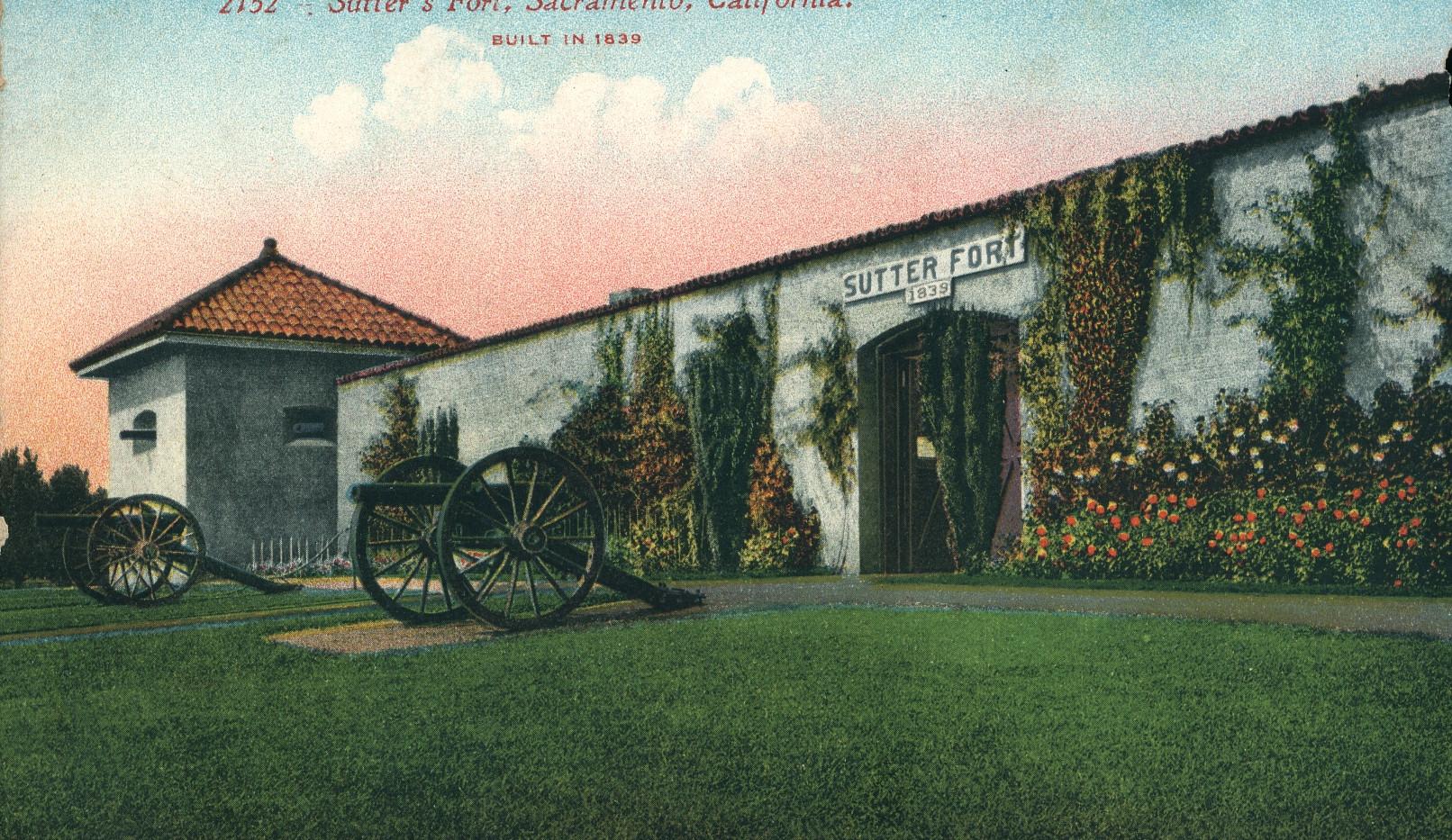 Sutter's Fort, Sacramento, California