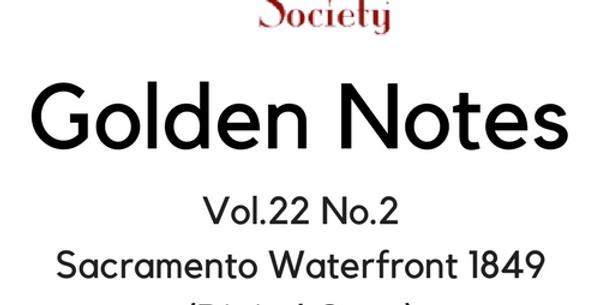 Vol.22 No.2 Sacramento Waterfront 1849 (Digital Copy)