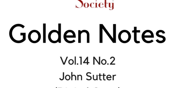 Vol.14 No.2 John Sutter (Digital Copy)