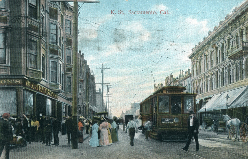 K. Street, Sacramento, California