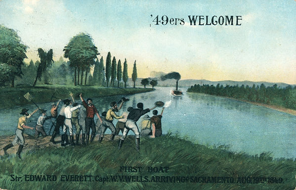 '49ers Welcome, 1849 - Postcard.jpg