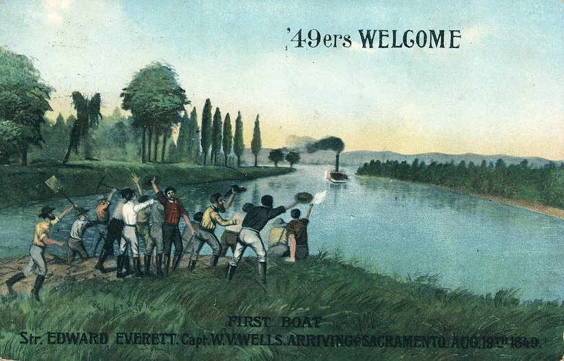 '49ers Welcome, 1849 - Postcard.jpg