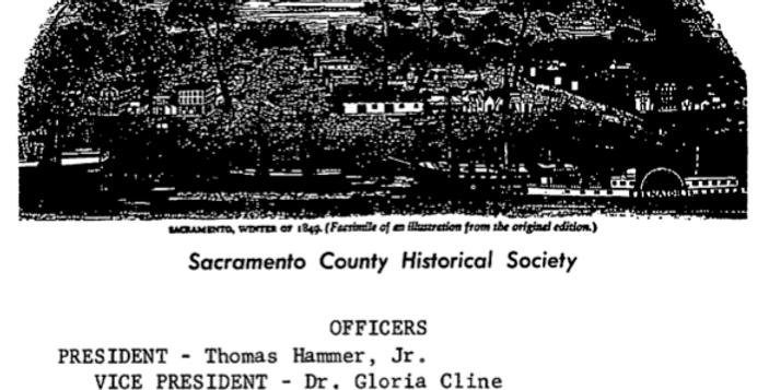 Vol.9 No.2 Wells Fargo in Sacramento (Print Copy)