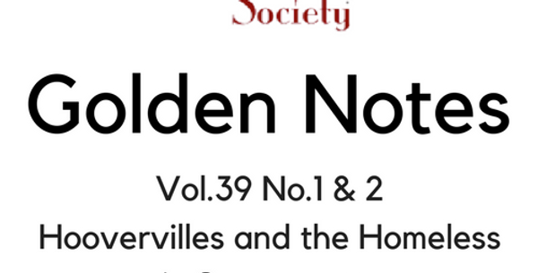Vol.39 No.1 & 2 Hoovervilles and the Homeless in Sacramento (Digital Copy)
