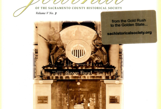 Vol.5 No.3 Sacramento Department Stores Go To War (Print Copy)