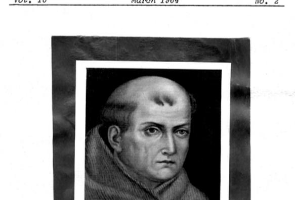 Vol.10 No.2 Father of California: Fr. Junipero Serra (Print Copy)