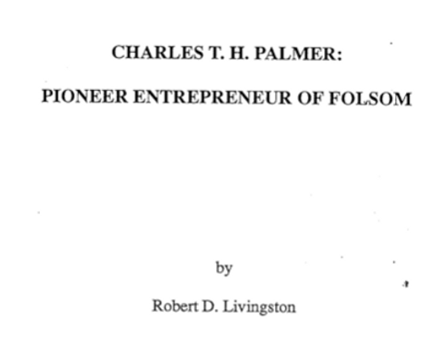 Vol.37 No.3 The Pioneer Entrepreneur of Folsom (Print Copy)