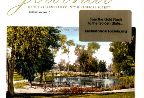 Vol.3 No.1 McKinley Park: The Origin of East Sacramento (Print Copy)