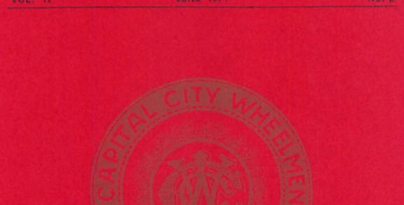 Vol.17 No.2 The Capital City Wheelmen (Print Copy)