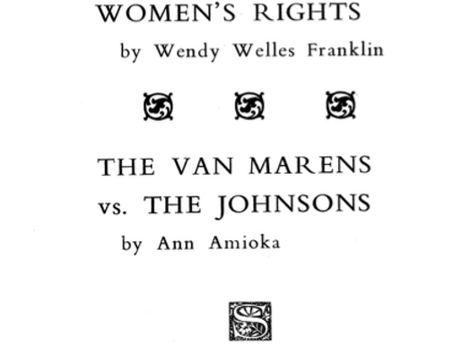 Vol.34 No.4 Women's Rights and the Capital (Print Copy)