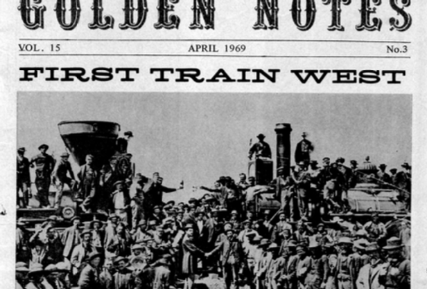 Vol.15 No.3 First Train West (Print Copy)