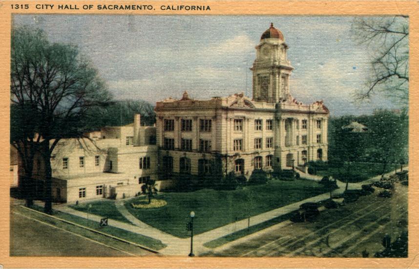 City Hall of Sacramento, California