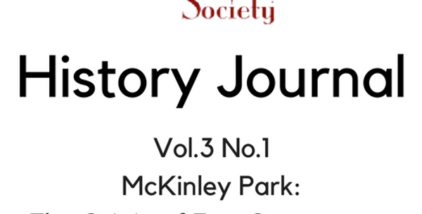 Vol.3 No.1 McKinley Park: The Origin of East Sacramento (Digital Copy)