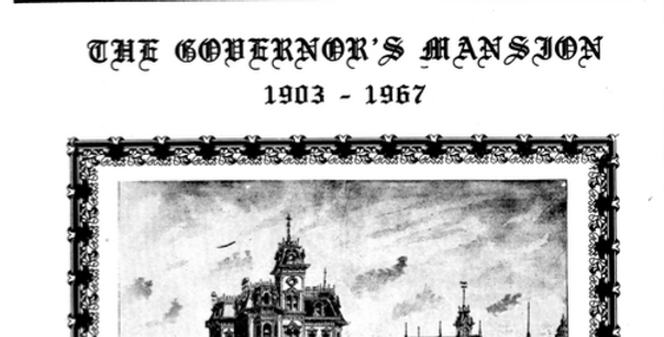 Vol.19 No.1 The Governor's Mansion (Print Copy)