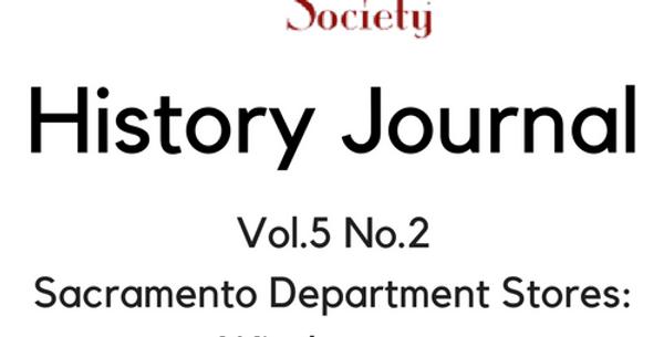 Vol.5 No.2 Sac Department Stores: Windows on American Cultures (Digital Copy)