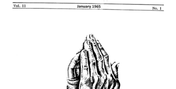 Vol.11 No.1 Our Pioneer Churches (Print Copy)