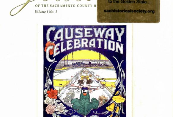 Vol.1 No.1 Causeway Celebration (Print Copy)