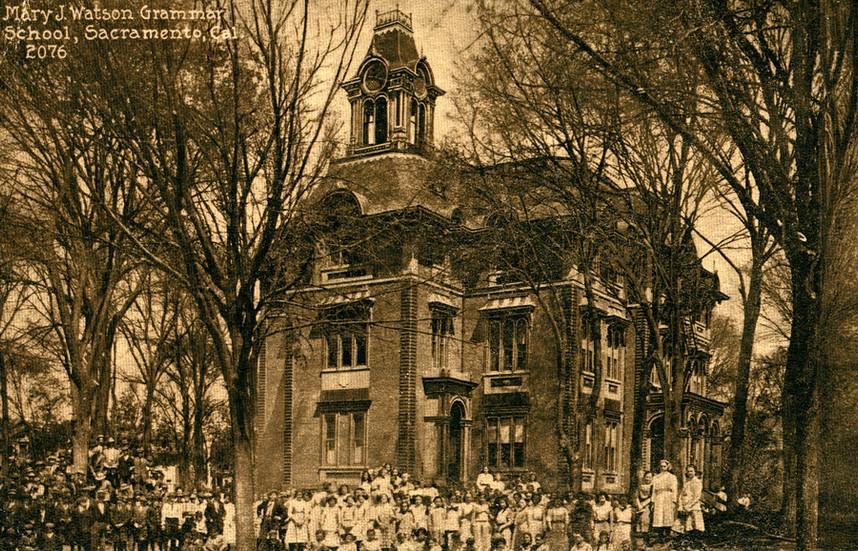 Mary J. Watson Grammar School, Sacramento, California