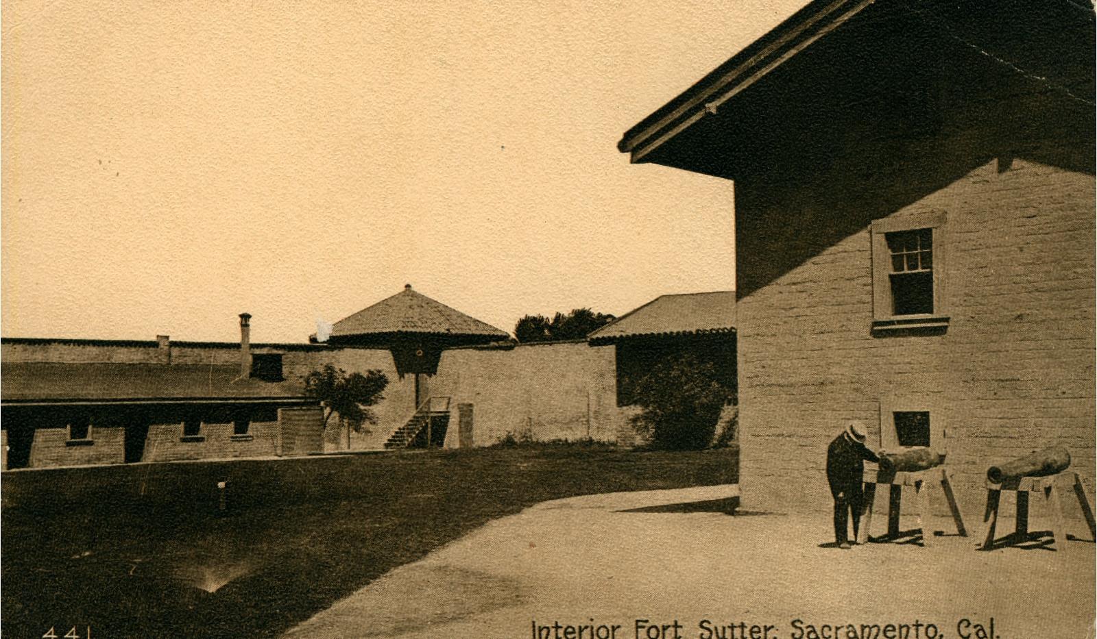 Interior Fort Sutter, Sacramento, California
