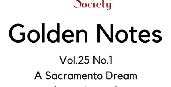 Vol.25 No.1 A Sacramento Dream (Digital Copy)