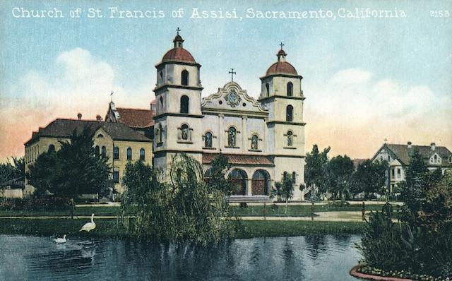Church of St. Francis of Assisi, Sacramento, California. No. 2153