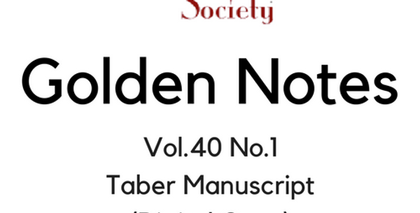 Vol.40 No.1 Taber Manuscript (Digital Copy)