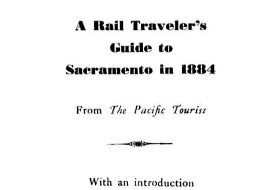 Vol.33 No.2 Sacramento for Tourists (Print Copy)