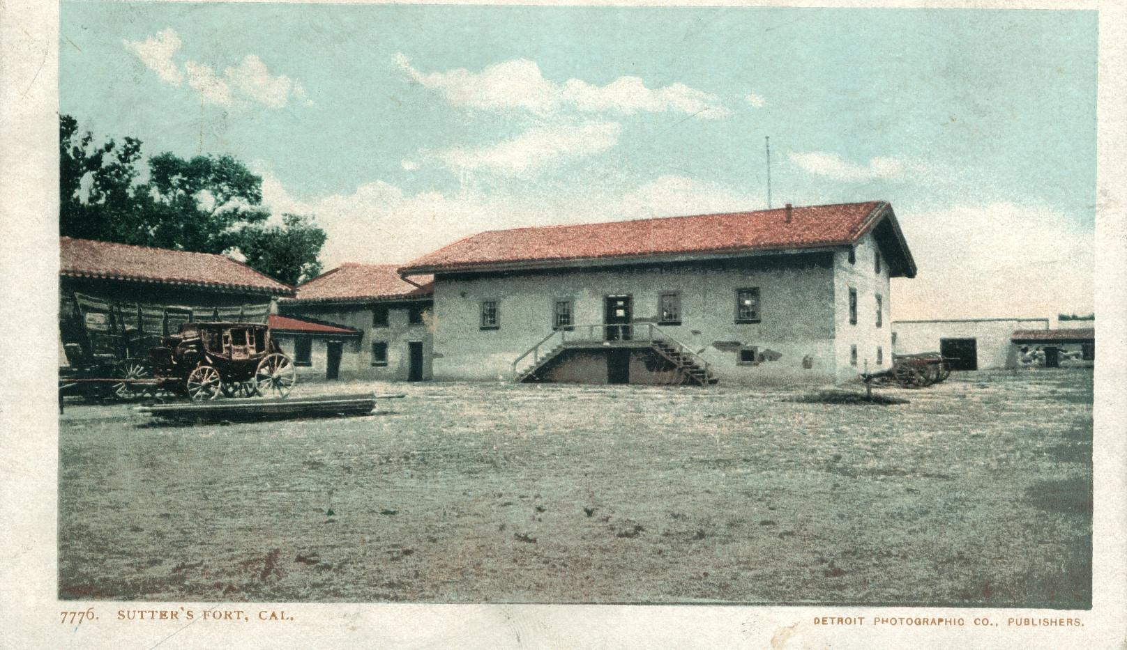 Sutter's Fort, California