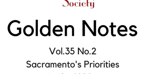 Vol.35 No.2 Sacramento's Priorities in the 1950s (Digital Copy)