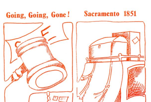 Vol.20 No.4 Stage Coaching in Sacramento 1851 (Print Copy)