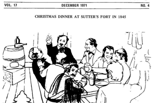 Vol.17 No.4 Christmas at Sutter's Fort (Print Copy)