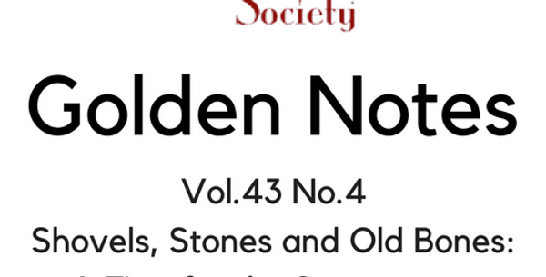 Vol.43 No.4 Shovels, Stones & Old Bones: Sac Junior College (Digital Copy)