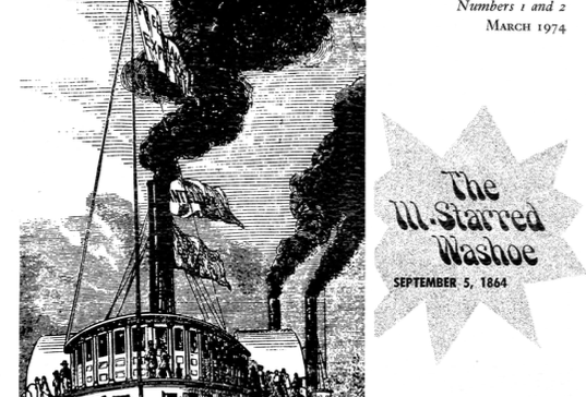 Vol.20 No.1 & 2 The Ill .Starred Washoe (Print Copy)